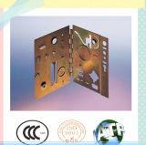 Отжатый лист металла высокой точности штемпелюющ часть