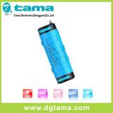 Wasserdichter drahtloser Bluetooth V4.0 Stereolautsprecher für Smartphone im Freiensport
