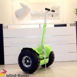 Zwerver Twee van de wind het Zelf In evenwicht brengende Elektrische voertuig van het Wiel