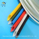 1.2kv de Glasvezel Sleeving van het silicone voor de Uitrusting van de Draad
