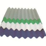 Feuille enduite de toiture de vente de fabrication de la Chine des prix de couleur ondulée chaude d'espace libre