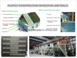 Membrana impermeable del respiradero del material de construcción de Playfly (F-100)