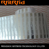 Etiqueta/escritura de la etiqueta/etiqueta engomada electrónicas de la resistencia a la corrosión RFID