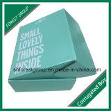 Presentes ondulados da amostra livre que empacotam a caixa da caixa da cor