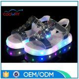 공장 도매가 여름 샌들 LED 아이 단화