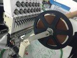 컴퓨터 Sequin 끈으로 묶는 구슬 단화 장치를 가진 단 하나 맨 위 자수 기계