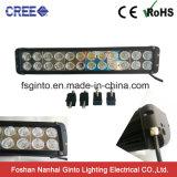 極度の明るい10Wクリー族の倍の列LEDのライトバー11inch