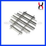 Permanenter magnetischer Filter mit 5 Rohr-dem magnetischen Stab-Gitter