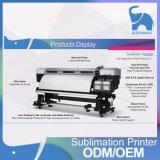 Impressora dobro 64inch de matéria têxtil do Sublimation da cabeça de impressão F9280 de Tfp