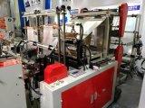 Große Geschwindigkeit vier Zeilen Einkaufen-Beutel, die Maschine herstellend dichten
