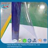 Подгонянный занавес двери листа PVC качества еды супер ясный гибкий голубой прозрачный