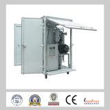 Máquina Two-Stage do tratamento do petróleo do transformador do vácuo da eficiência elevada de Zja