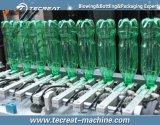 Botella plástica que hace la máquina