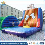 Pared que se pega inflable modificada para requisitos particulares, pared del Velcro inflable para los adultos y cabritos