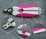 Профессиональный клипер ногтя собаки любимчика легкий и сейф, котор нужно использовать