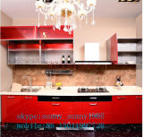 De acryl (aangepaste) Kast van de Keuken