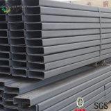 Canal U galvanizado del acero de carbón para el perfil de acero