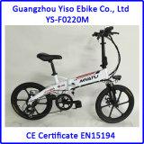 중국 광저우 Yiso E 자전거에서 En15194 36V 250W 소형 폴딩 전기 자전거
