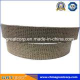 Rouleau de garniture de frein moulé en caoutchouc d'amiante avec fil de cuivre