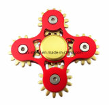 Regalo agradable perfecto para los niños, juguetes adultos del hilandero de la mano