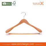 Вешалка одежд холеного качества Eisho деревянная для пальто