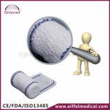 Atadura médica do elástico do Crepe do algodão dos primeiros socorros