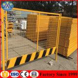 工場価格OEMの安全警告の鋼鉄保護ネットの基礎溝のガードレールの一時塀