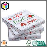 Caixa de empacotamento da pizza do papel ondulado do alimento da cópia de cor cheia