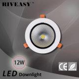 MAZORCA ligera de aluminio de fundición a presión a troquel LED Ceilinglight del proyector de 12W LED Ce&RoHS LED