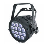 IGUALDAD de 14X10W Rgbwy+UV 6in1 LED con Neutrik Powercon movible