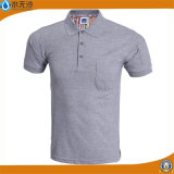 Vente en gros Hommes Pique Polo Shirts Cheap CVC Polo T-Shirts