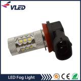 12V Auto LED Bombilla H11 H16 H3 80W luces de niebla para el coche