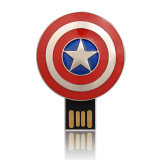 Großhandelsgrelle Platte-Kapitän American Thumb Drive rächer USB-1GB