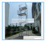 Tour d'échafaudage en aluminium approuvé Ce approuvé pour décoration