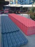 ASA 입히는 PVC 물결 모양 루핑 장 압출기 기계