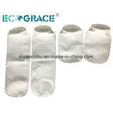 Tela filtrante del poliester calcetines del filtro de bolsos de filtro de 10 micrones