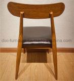أسلوب [نورديك] حديثة بسيطة وقت فراغ جلد يتعشّى كرسي تثبيت