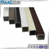 Il tubo ovale di alluminio ha anodizzato l'alluminio rotondo di alluminio del tubo di /Square di rettangolo si è sporto tubo