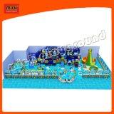 Kind-weicher Innenplastikspielplatz mit Rollen-Plättchen
