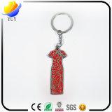 Form-Entwurf und bunte Zink-Legierungc$cheong-sam-Schlüsselkette
