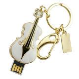 Movimentação do flash do USB da movimentação da pena da vara da memória da guitarra da jóia mini