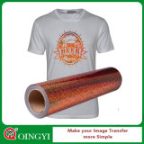 Rodillo del vinilo del traspaso térmico del holograma del precio de fábrica de Qingyi para la ropa