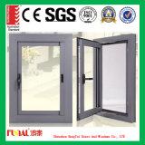 finestra di alluminio della stoffa per tendine della stanza e della cucina