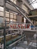 Automatischer doppelter gefalteter Beutel des Abfall-Gbdr-600, der Maschine herstellt
