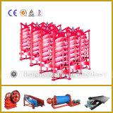 Espiral Concentrador Chute Machine para procesamiento de carbón de oro de procesamiento