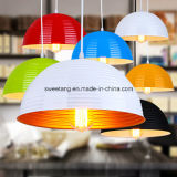 Zhongshan-Zubehör-Gaststätte-dekoratives Aluminium, das hängende Lampe hängt