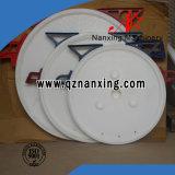 Placa de filtro circular de alta presión