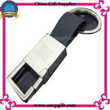 Alta calidad Keychain de cuero para el regalo de cuero del Keyring