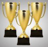 Copo plástico de prata do troféu de 7.5 polegadas para a competição do clube