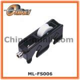 Porte de patio et rouleau en alliage de zinc réglables de guichet (ML-FS007)